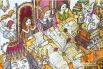 Иллюстрация к книге о Мэри Поппинс