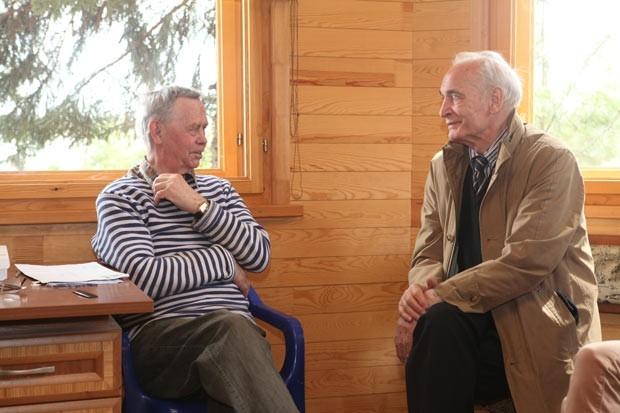 Василий Семёнович побывал в гостях у своего друга Валентина Распутина.