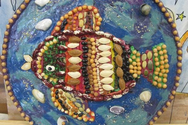 Байкальская рыбка (Природные материалы).