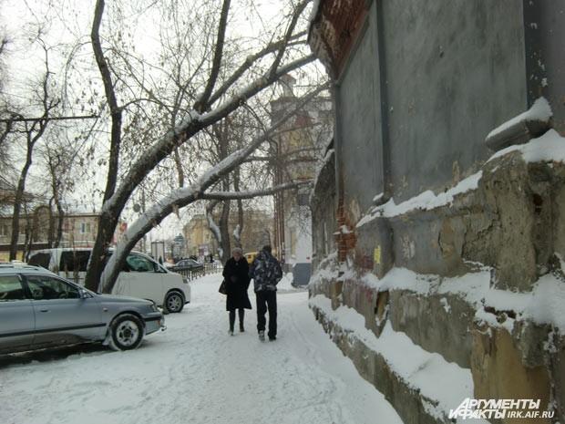 Так выглядят центральные улицы города.