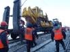 Прибыл восстановительный поезд из Улан-Удэ.