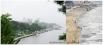 На этом фото вы можете сравнить как берег Хабаровска выглядел до наводнения.