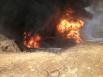 Во время горения произошло 2 обрушения цистерны. Во время второго пострадало 7 пожарных. У всех пострадавших ожоги легкой степени тяжести. От госпитализации все отказались.