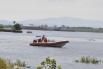 Сложнее всего обстановка на острове Большой Уссурийский, где передвигаться теперь можно только на лодке.