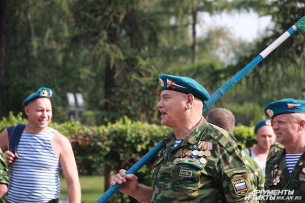 Ветераны ВДВ никогда не пропускают 2 августа.
