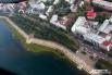 Вид на Верхнюю набережную Иркутска.