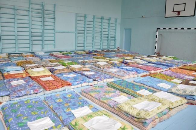 Жители острова Уссурийского определены в центрах временного размещения.