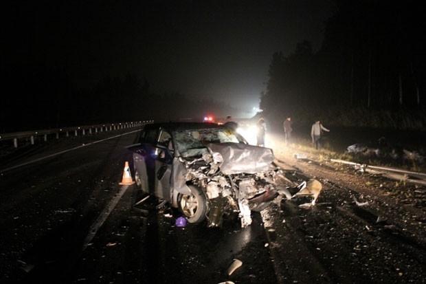 По предварительной информации ДТП произошло по вине водителя «Тойоты»