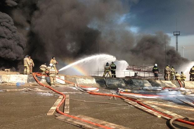 Оперативно все рабочие были эвакуированы с места ЧП