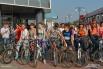 Велопрогулка по традиции была вечерней. Стартовали участники около 20 часов вечера.