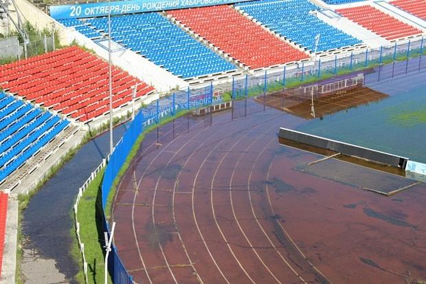 Стадион им. Ленина был построен в Хабаровске в 1956 году.