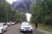 Эпицентр возгорания находится недалеко от трассы М-53 «Байкал», сильное задымление затрудняет движение.