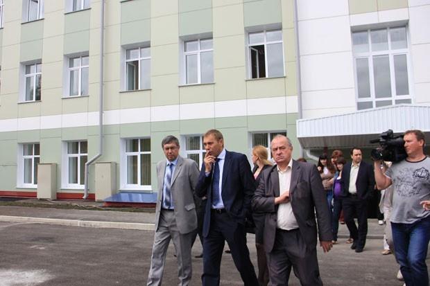 Мэр Виктор Кондрашов лично проверил готовность объекта