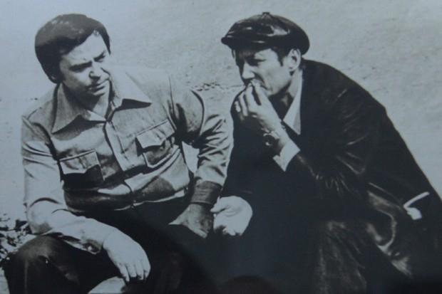 Писатель Валентин Распутин и поэт Евгений Евтушенко, 1980 г.