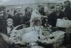 На колхозном базаре. Продажа мяса. Иркутск, 1932 год.