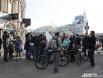 Проводить велопутешественников пришли представители Минспорта РТ, родные и друзья, а также несколько десятков представителей велосообщества Казани