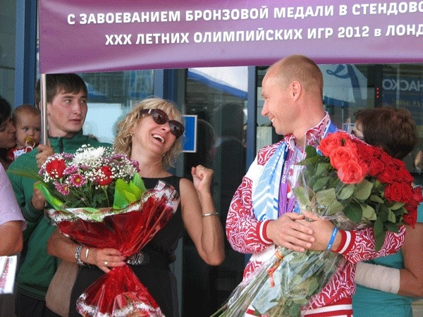 Василий Мосин и Светлана Дёмина.