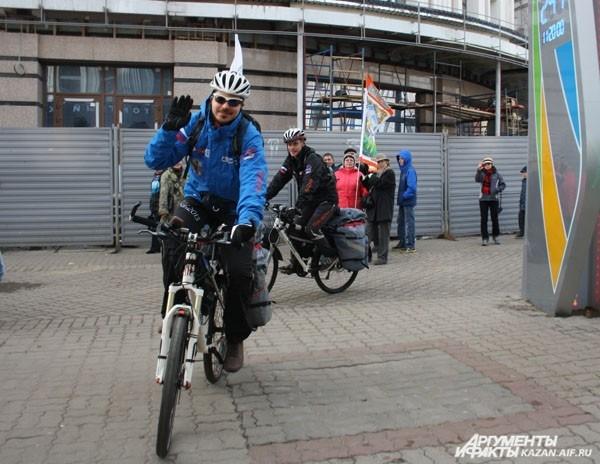 Спортсмены стартовали в 12.30 по московскому времени
