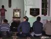 Глава семьи уходит в мечеть