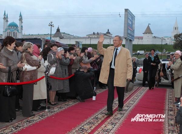Режиссер, сценарист, народный артист России Андрей Кончаловский.