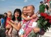 Василий Мосин с семьей.