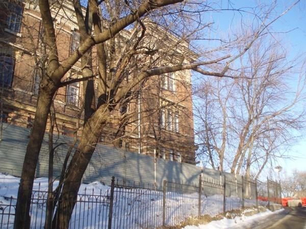 Вид на Шамовскую больницу