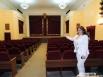 Елена Антонова - преподаватель Дины по вокалу показала с гордостью зал в ДК «Родина», где с пяти лет выступала участница «Евровидения»,
