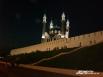 Многолюдный вечерний Кремль