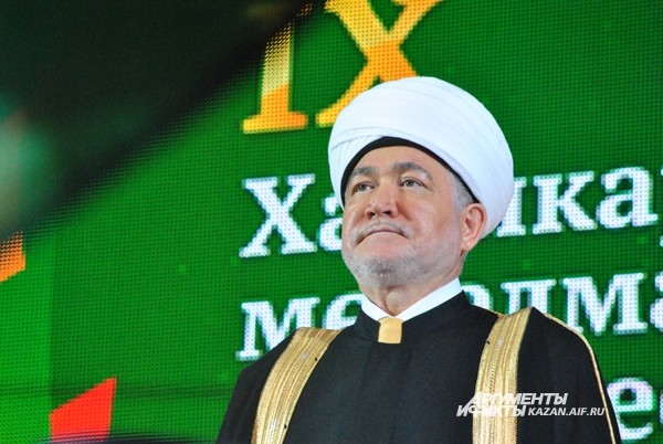 Председатель Совета муфтиев РФ Муфтий шейх Равиль Гайнутдин