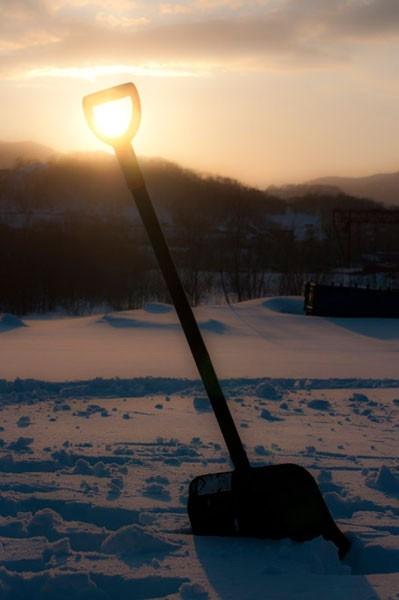Солнечная лопата
