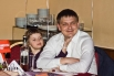 Коммерческий директор камчатского филиала Билайн Александр Бунин с дочкой