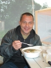 Гостю фестиваля из Сочи, КМН, врачу-онкологу Андрею Ткаченко уха понравилась!