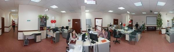 Новый формат организации труда open space (офис, в котором все сотрудники находятся в едином большом помещении)