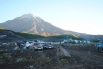 Лагерь разбили между двумя вулканами - Корякским и Авачинским