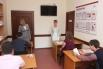 На территории офиса располагается оснащённый всем необходимым учебный класс для страховых агентов