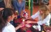 На мастер-классе учили, как сделать куклу из ткани