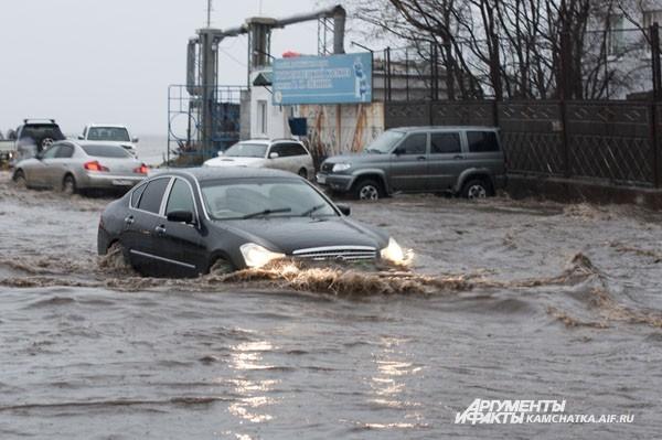 Потоп в районе Сероглазки
