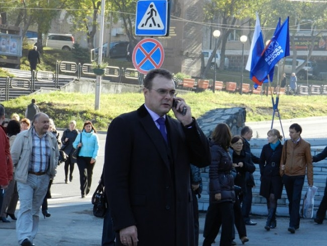 Заместитель председателя Законодательного Собрания Камчатского края Роман Гранатов.