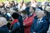 Справа с лентой на груди мэр Петропавловска-Камчатского Владимир Семчёв.