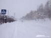 Дороги плотно укутало снегом