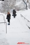 Снежные лестницы