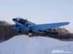 Военный самолёт — памятник при въезде в военный городок близ Ключей