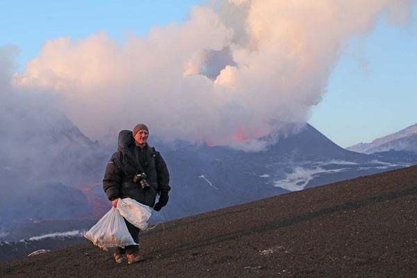 Подарки вулканологов
