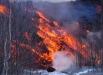 Дымящийся кусок вулканической плоти...