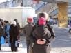 Случайно подкараулили. Влюблённые на автобусной остановке в Петропавловске