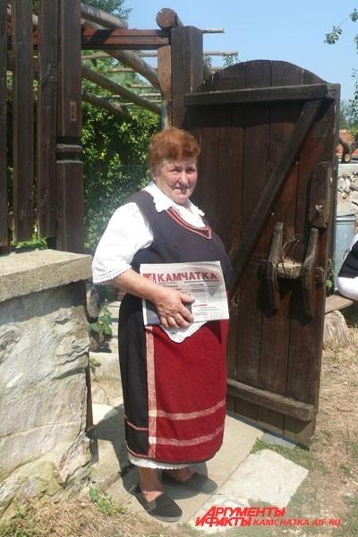 Камчатский «АиФ» читают и в болгарской деревушке