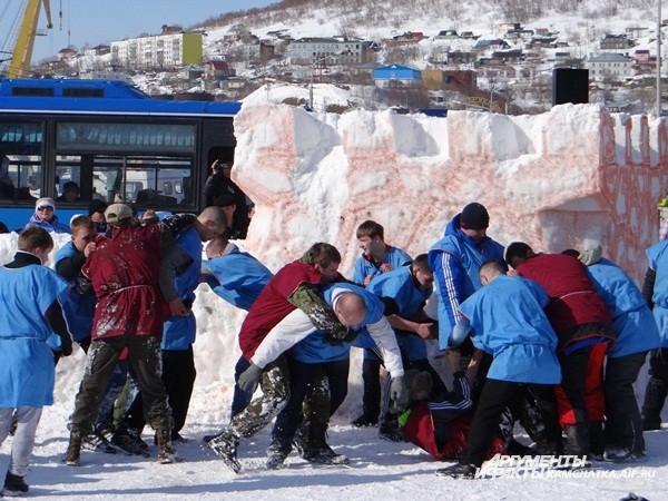 Сражение за Ледяную крепость