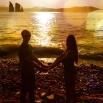 «Когда меня за руку держишь нежно — весь мир замирает безмятежно». Диана Ожялите и Сергей Омельченко