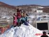 Покорили снежную вершину!