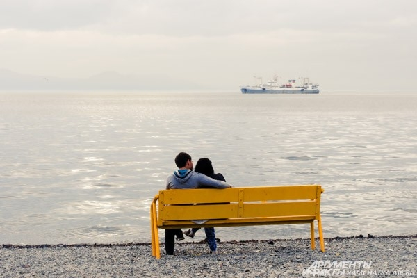 Романтика на берегу Тихого океана…